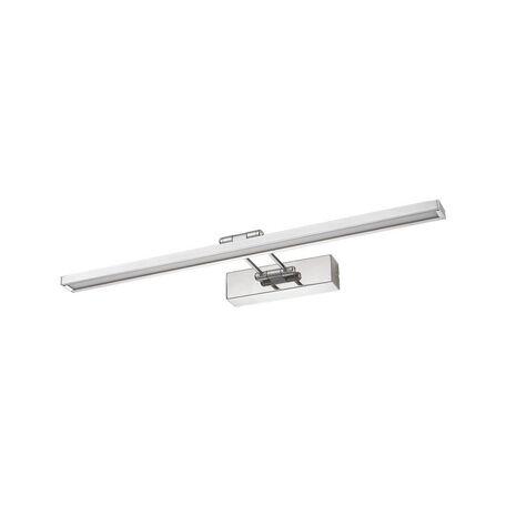 Настенный светодиодный светильник для подсветки картин Nowodvorski Gaudi 6851, LED 12W 3000K, хром, металл, пластик