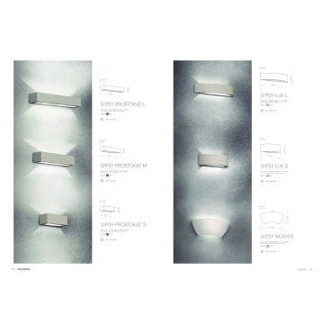 Настенный светильник Nowodvorski Gipsy Prostokat 2207, 2xE27x60W, белый, под покраску, гипс со стеклом, стекло - миниатюра 6