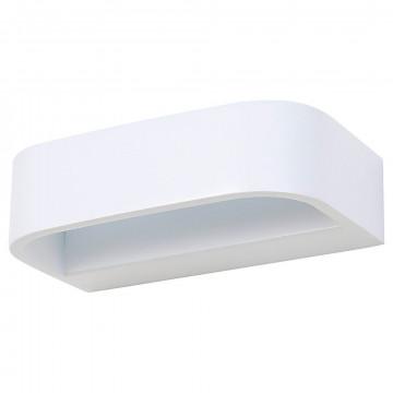 Настенный светодиодный светильник Nowodvorski Gess LED 6912, LED 6W 3000K, белый, металл