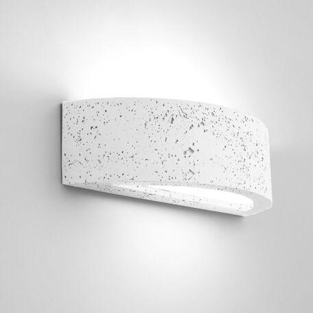 Настенный светильник Nowodvorski Arch 9633, 1xE27x60W, белый, под покраску, гипс, стекло