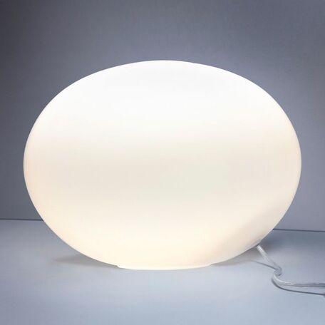 Настольная лампа Nowodvorski Nuage 7022, 1xE27x60W, белый, стекло
