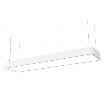 Подвесной светильник Nowodvorski Soft 6982, 2xG5T5x54W, белый, металл, пластик