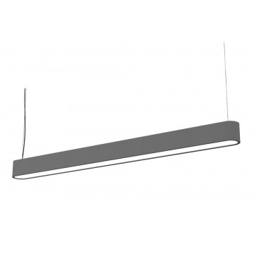 Подвесной светильник Nowodvorski Soft 6984, 1xG5T5x54W, серый, белый, металл, пластик