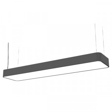 Подвесной светильник Nowodvorski Soft 6985, 2xG5T5x54W, серый, белый, металл, пластик
