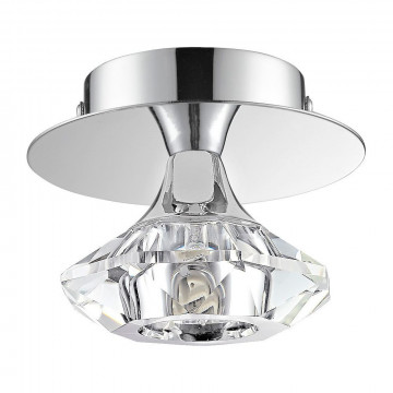Потолочный светильник Nowodvorski Tesalli 4651, 1xG9x40W, хром, прозрачный, металл, хрусталь