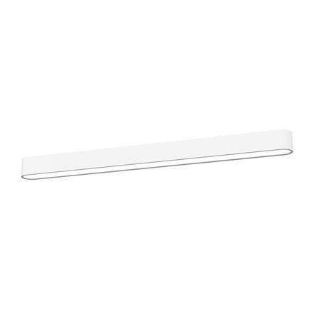 Потолочный светильник Nowodvorski Soft 6988, 1xG5T5x54W, белый, металл, пластик