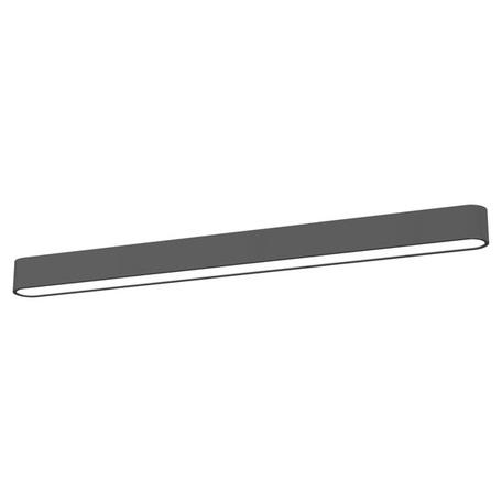 Потолочный светильник Nowodvorski Soft 6991, 1xG5T5x39W, белый, серый, металл, пластик