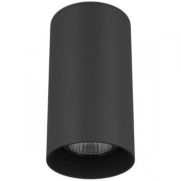 Потолочный светильник Lightstar Rullo 216487, 1xGU10x50W, черный, металл