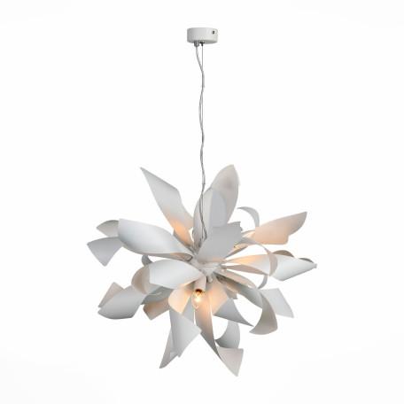 Подвесная люстра ST Luce Spiraglio SL453.503.06E, 6xE14x40W, белый, металл
