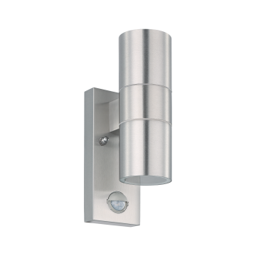 Настенный светильник Eglo Riga 5 32898, IP44, 2xGU10x3W, сталь, металл, стекло