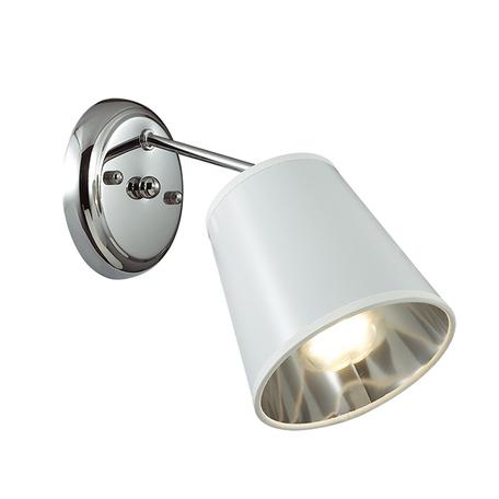 Бра Lumion Zulienna 3314/1W, 1xE14x40W, хром, белый, металл, пластик