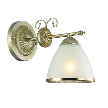 Бра Lumion Gaspardo 3455/1W, 1xE14x40W, металл, стекло - миниатюра 1