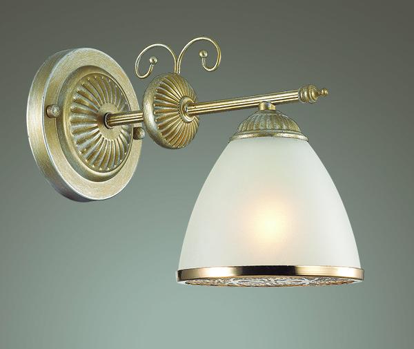 Бра Lumion Gaspardo 3455/1W, 1xE14x40W, металл, стекло - фото 3