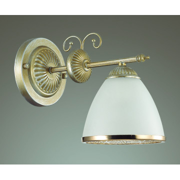 Бра Lumion Gaspardo 3455/1W, 1xE14x40W, металл, стекло - миниатюра 4