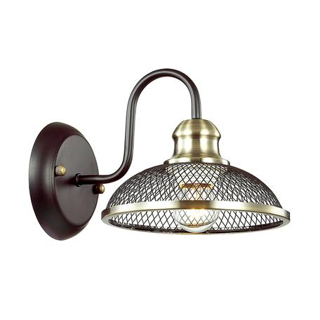 Бра Lumion County Zerome 3472/1W, 1xE27x40W, бронза, коричневый, металл