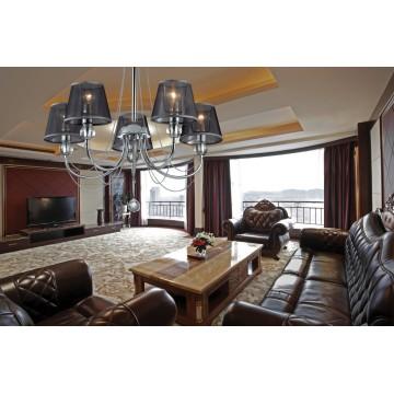 Потолочная люстра Lumion Asanta 3228/5, 5xE14x40W, прозрачный, хром, черный, металл, стекло, текстиль, хрусталь - миниатюра 5