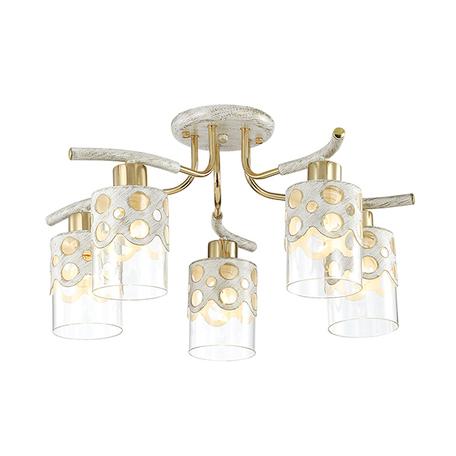 Lumion Colett 3271/5C, 5xE14x60W, металл, стекло