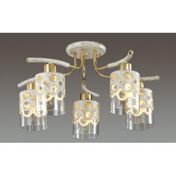 Lumion Colett 3271/5C, 5xE14x60W, металл, стекло - миниатюра 3