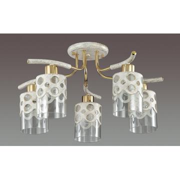 Lumion Colett 3271/5C, 5xE14x60W, металл, стекло - миниатюра 4