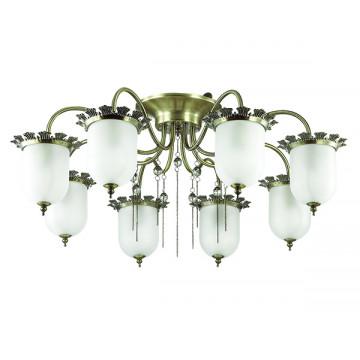 Lumion Denissa 3456/8C, 8xE14x40W, металл, стекло - миниатюра 2
