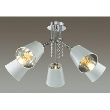 Потолочная люстра Lumion Zulienna 3314/5C, 5xE14x40W, хром, белый, прозрачный, металл, пластик, хрусталь - миниатюра 3