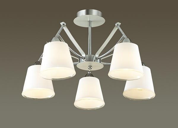 Потолочная люстра Lumion Hadrinna 3449/5C, 5xE14x60W, хром, белый, металл, стекло - фото 3