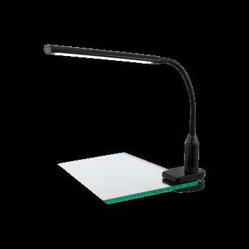 Светодиодный светильник на прищепке Eglo Laroa 96437, LED 4,5W 4000K 550lm, черный, пластик