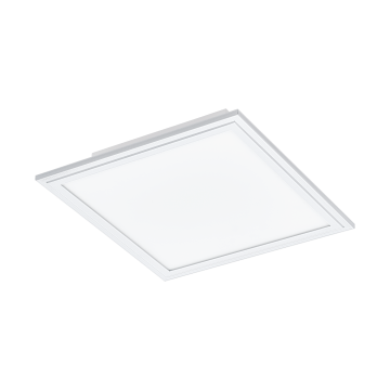 Светодиодная панель для встраиваемого или накладного монтажа Eglo Salobrena 2 96891, LED 16W, белый, металл, пластик
