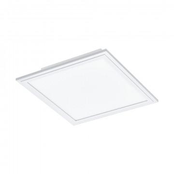 Светодиодная панель для встраиваемого или накладного монтажа Eglo Salobrena 2 96891, LED 16W 4000K 2100lm CRI>80, белый, металл с пластиком, пластик