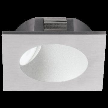 Встраиваемый настенный светодиодный светильник Eglo Zarate 96902, LED 2W, серебро, металл, пластик