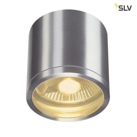 Потолочный светильник SLV ROX CEILING 1000332, IP44, 1xGU10x50W, алюминий, металл