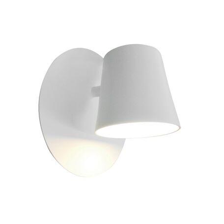 Светодиодное бра Favourite Conus 1853-1W, LED 6W, белый, металл