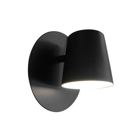 Светодиодное бра Favourite Conus 1854-1W, LED 6W, черный, металл