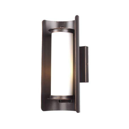 Настенный светильник Favourite Trolls 1505-1W, 1xE14x40W, коричневый, белый, металл, стекло