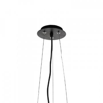 Подвесная люстра Favourite Conus 1854-3P, 3xE27x60W, черный, металл - миниатюра 3
