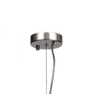 Подвесная люстра Favourite Birra 1861-10P, 10xE14x40W, белый, стекло, текстиль - миниатюра 2