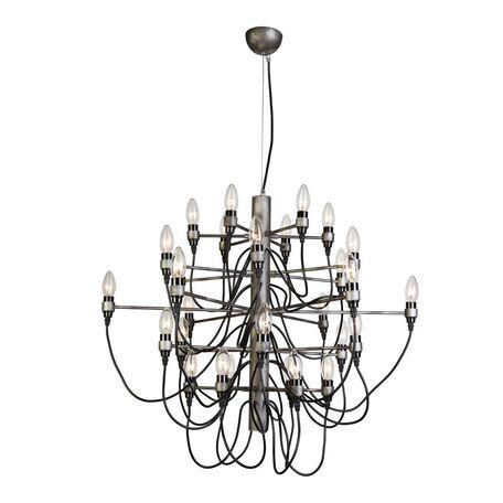 Подвесная люстра Favourite Golem 1892-30P, 30xE14x40W, серый, металл