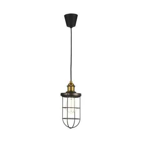 Подвесной светильник Favourite Dock 1589-1P, 1xE27x40W, бронза, коричневый, металл