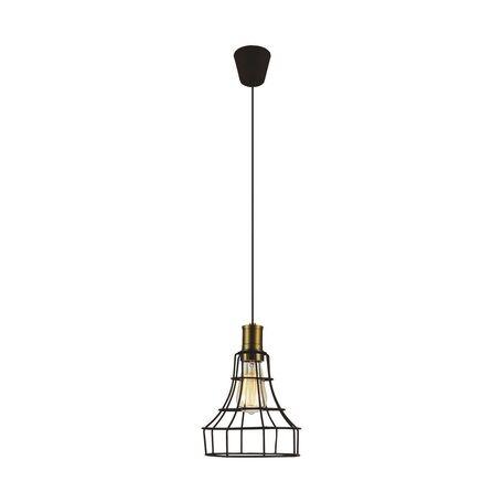 Подвесной светильник Favourite Dock 1595-1P, 1xE27x40W, коричневый, металл - миниатюра 1