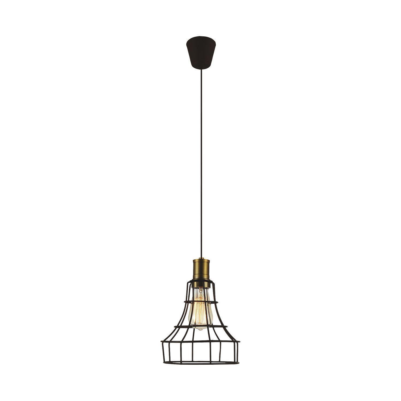 Подвесной светильник Favourite Dock 1595-1P, 1xE27x40W, коричневый, металл - фото 1