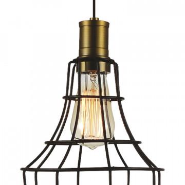 Подвесной светильник Favourite Dock 1595-1P, 1xE27x40W, коричневый, металл - миниатюра 2