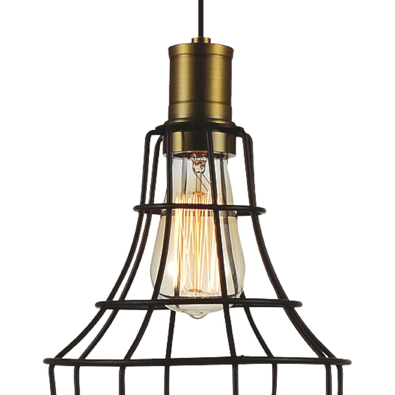 Подвесной светильник Favourite Dock 1595-1P, 1xE27x40W, коричневый, металл - фото 2