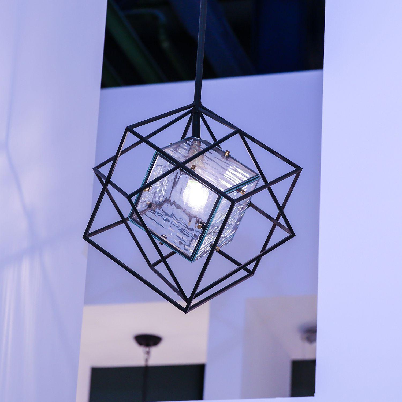 Подвесной светильник Favourite Versatile 1908-1P, 1xE14x40W, черный, прозрачный, металл, металл со стеклом - фото 3