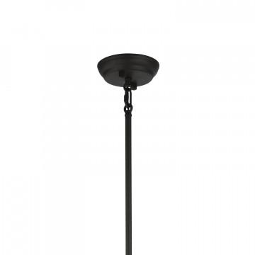 Подвесной светильник Favourite Versatile 1908-1P, 1xE14x40W, черный, прозрачный, металл, металл со стеклом - миниатюра 4
