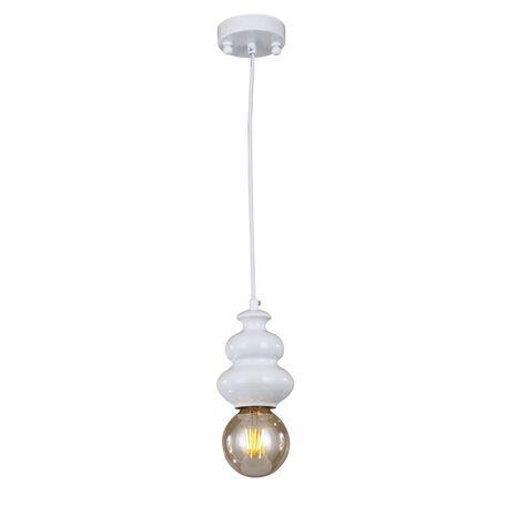 Подвесной светильник Favourite F-Promo Bibili 1683-1P, 1xE27x40W, белый, металл