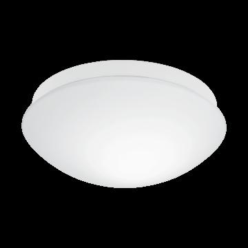 Потолочный светильник Eglo Bari-M 97531, IP44, 1xE27x20W, белый, пластик, стекло