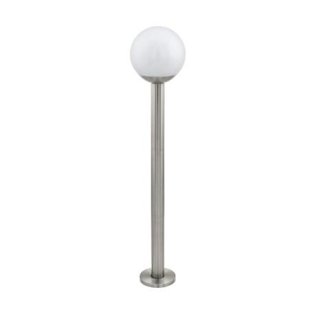 Садово-парковый светильник с пультом ДУ Eglo Connect Nisia-C 97249, IP44, 1xE27x9W, сталь, белый, металл, пластик