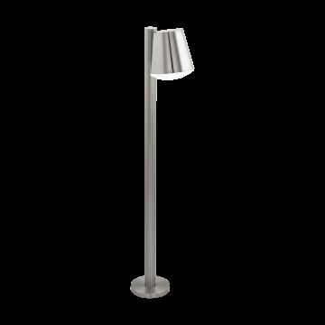 Садово-парковый светильник Eglo Caldiero 97454, IP44, 1xE27x10W, сталь, металл, пластик