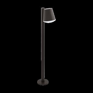 Садовый светильник с пультом ДУ Eglo Caldiero-C 97483, IP44, 1xE27x9W, серый, металл, пластик