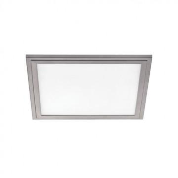 Светодиодная панель для встраиваемого или накладного монтажа Eglo Salobrena 2 97636, LED 16W, алюминий, металл, пластик